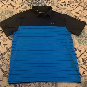 Under Armour men's polo shirt heat gear loose fit